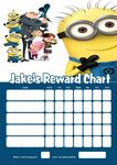 Personalised Despicable Me Minions Reward Chart (adding photo option available)
